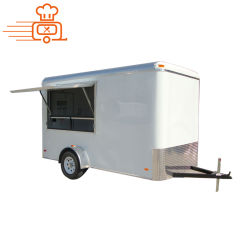 2020 crema esterna della via personalizzata vendita calda BBQ/Ice di Austrial/Newzland/USA/carrello/rimorchio francesi dell'alimento del Retro Concession Van Truck Mobile della friggitrice per alimenti a rapida preparazione/spuntino