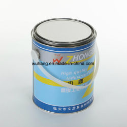 Fabricante do cilindro branco Anti-Rust vazia pode ser de metal