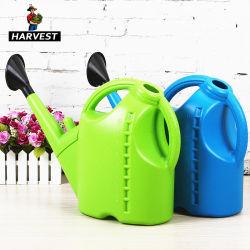 5L/10L de plastic Landbouw kan Gieter van de Tuin van het Huis van het Spuiten van Kleuren de Lange (WNC002)