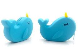Оптовая торговля новый стиль силикон очаровательный кошелек рекламных подарков Cute медали Wallet