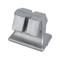 acier allié inoxydable coulage en sable pour le ciment de l'industrie de construction