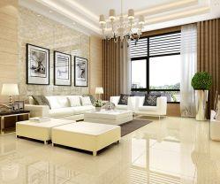 600*600mm Pulati carga doble piso de azulejos de porcelana pulida