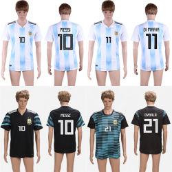 L'Argentine Messi World-Cup Dybala di Maria 2018 Thaïlande maillots de football