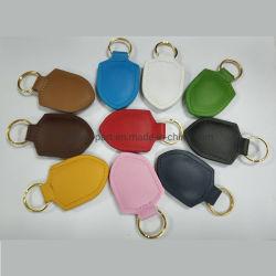 각종 색깔 가죽 차 FOB 열쇠 고리 Keychains