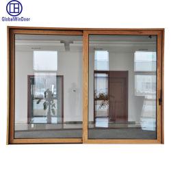 外部アルミニウムかアルミ合金および出入口を滑らせる内部の金属の緩和されたガラスの上昇
