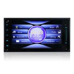Auto MP5 voor de Bloemkroon van Toyota Ios en Androïde Mirrorlink Bluetooth USB van de Steun van de Radio van de Auto van 7 Duim 2DIN