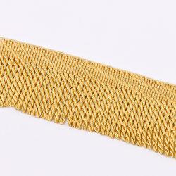 Más colores 10cm Bullion Borla flecos cortar por la decoración de cortina