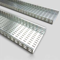 알루미늄 합금 관통되는 여물통 유형 케이블 쟁반 케이블 중계