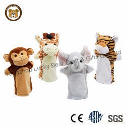 Venda por grosso de animais leves de brinquedos a crianças fantoche de mão
