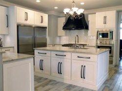 Un style moderne blanc gris de l'Espresso Shaker armoires de cuisine en bois