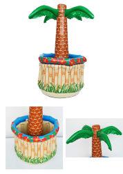 6piscina hinchable de grandes palmeras de coco Enfriador de bebidas bebidas Cubo de Hielo Sandbeach parte decoraciones de camping