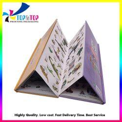 Custom детей Совет складная покрытием жесткого покрытия книги печать