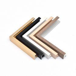Holzfarbe Aluminium Bilderrahmen für Home Dekoration