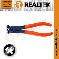 Fachmann Nickel-Pflanzte Enden-Scherblock-Zangen mit zweifarbigen Plastikgriffen