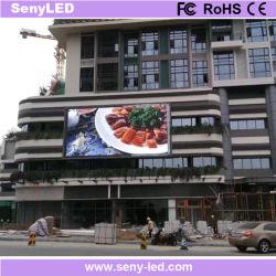 Piscine pleine couleur Conseil signe de la vidéo LED du panneau de publicité pour le Shopping Guide