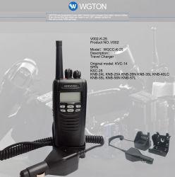 Kvc-14 véhicule Mobile adaptateur de chargeur pourbatterie talkie walkie Kenwood
