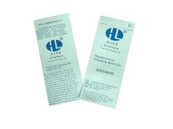 Embalagem flexível para uso da medicina panos de desinfecção