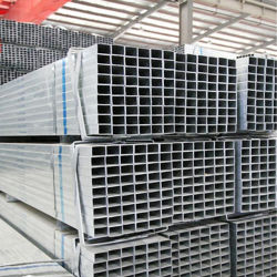 P195/P235 Pre-Galvanized huecos cuadrados o rectangulares de tubos de acero de sección o tubo de acero con precios más bajos de fábrica de la lista de peso