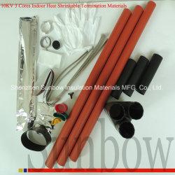 Sunbowケーブルのアクセサリの熱の収縮の終了および接合箇所