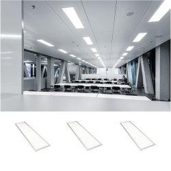300*1200 прямоугольные потолочные лампы освещения управление светодиодный индикатор с плоской панелью
