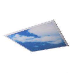des Büro-600X600 flache quadratische Instrumententafel-Leuchte 38W 48W Deckenleuchte-des Himmel-LED