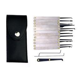 Klom工具セットのトレーニングセットを選んでいる錠前屋の初心者のためのセット12部分のロックの一突き