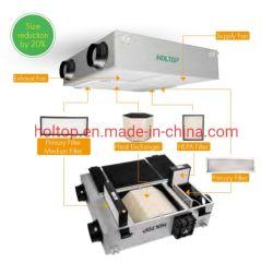 Holtop nuevos Eco Slim de la VFC/ Erv recuperador de calor de aire Sistema de ventilación de recuperación de energía