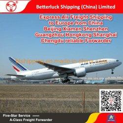 Druk de Vracht die van de Lucht uit de Luchthaven Flughafen aan van Zwitserland Zürich (ZRH) verschepen van China Peking Xiamen Shenzhen