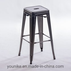 """실내 30 """"와 옥외 의자 포도 수확 Tolix 의자 금속 의자"""