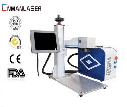 Marquage laser à fibre / Equipemnt marqueur / Machine pour les bijoux/or/argent/la coupe Silver Gold gravure profonde