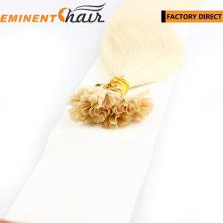 Entrega instantânea U-Tip Virgem Extensão de cabelo