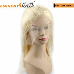 即刻の配達ブロンドの再生毛の在庫のレース Wig