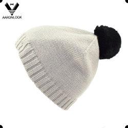 قبعة أرنب اكريليك ذات كنوت علوي