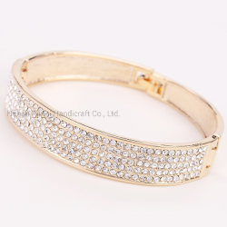 راهينستون إينلاي غرامة أللوي بانجل أزياء براسيليت فريدة مجوهرات