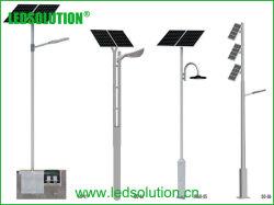 120W Outdoor Rue lumière LED solaire avec panneau solaire séparés