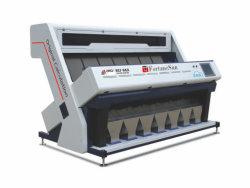穀物の穀物のための7つのシュート448チャネルCCDカラー選別機機械をソートするマルチ機能カラー