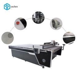 De reclame van CNC de Digitale Scherpe Machine van de Banner van de Zijde van Kt Board/PVC/van de Snijder Acryl Nylon zonder Laser