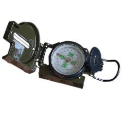 Outdoor Militar Multiuso Caminhadas Camping objectiva do Exército de Metal Mapa Medir Compass