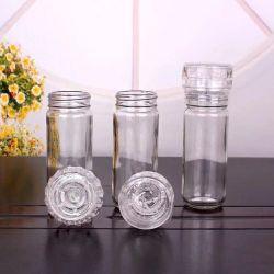 La FDA certifica la smerigliatrice di vetro manuale del sale del pepe di 100ml 150ml 180ml