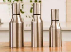 Nuevo estilo 304 de alta calidad doble pared acero Stainess olla el aceite de cocina