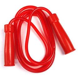 2m bewegliche Kinder, die weiches Belüftung-Zeilensprung-Seil für die Kinder schnell springen Seil ausbilden