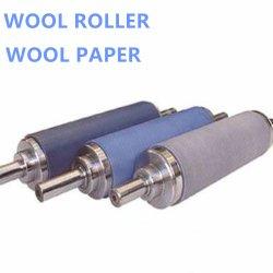Rolo de tamanho personalizado de papel de lã importada da Alemanha