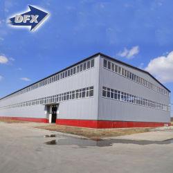 مصنع هيكل الصلب ورشة عمل المباني نظام مع الرافعة