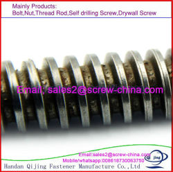 DIN975/ASTM A193-B7 tiges filetées en acier, Barre de filetage Acme