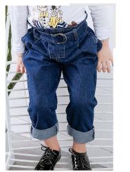 Bord de la courroie de rouleau chaud Kids fille Denim Jeans