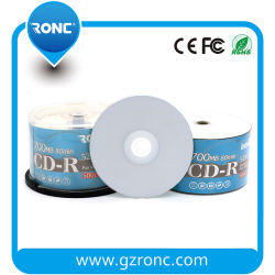 Inkjet Geschikt om gedrukt te worden Leeg cd-r 700min 80min 52X