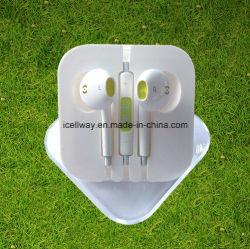 Micの音量調節を用いるiPhone 6 Earpodsのための良質の安くワイヤーで縛られたイヤホーン