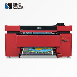 제조업체 직접 판매 고속 2400dpi 잉크젯 패브릭 시준 롤 플래그 폴리에스테르용 인쇄 기계