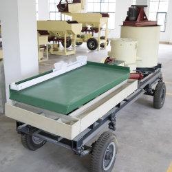 소형 골드 광산 장비 6s Gravity Separator Machine Chrome Zircon Tin Copper 텅스텐 골드 정렬 광물 쉐이킹 테이블 가격