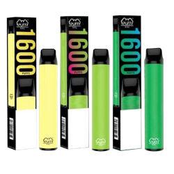 La penna a gettare 6.5ml di Vape del baccello dell'unità del soffio XXL di qualità migliore svuota le E-Sigarette della penna di Vape dei soffi del vaporizzatore 1600